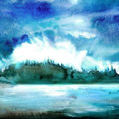 #westcoastbestcoast watercolour painting in blue! Bring the ocean home.  Link.  Profile. #watercolor #watercolorartist #watercolorpainting #art #artwork #artistsoninstagram #artistsofinstagram #artist_sharing #dailyart #theartlovers #artspotted #artistic_nation #art_collective #ocean #beach #coast #yyj #etsy #island