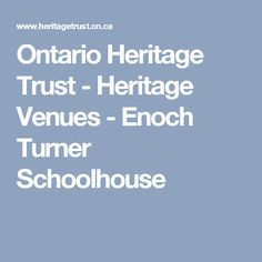 Ontario Heritage Trust - Ontario's Places of Worship Ontario Place, Samuel De Champlain, Place Of Worship, Special Events, Trust, Homeschool, Places, Life, Timeline