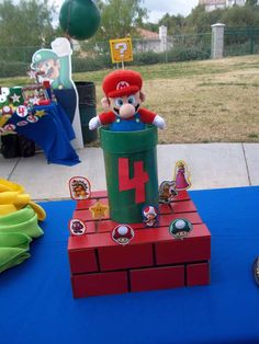 Super Mario Bros Birthday Party Ideas | Photo 9 of 20 | Catch My Party