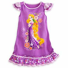 Disney Rapunzel Nightshirt for Girls | Disney StoreRapunzel Nightshirt for Girls - Your sleepy princess can let her hair down and relax in regal splendor in this Rapunzel Nightshirt. Every day will be a good hair day when it ends in the company of the Tangled star and her long golden locks.