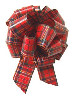 RED TARTAN PULL BOWS for Gifts, Christmas Presents and Hamper Baskets. These Pull Bows are exclusive to Jaffa Imports. They have a fabulous traditional red and blue tartan design. The bows are made from polypropylene which is recyclable. Christmas Gift Baskets, Christmas Gift Wrapping, Christmas Gifts, Wicker Hamper, Pull Bows, Tartan Christmas, Gift Bows, Blue Party, Tartan Plaid