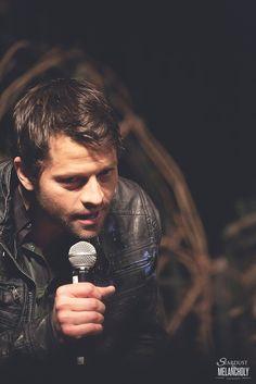 Misha Collins, Salute to Supernatural Las Vegas 2014- click through for so many more pics of Misha.