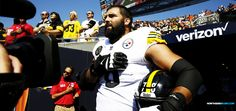 The lone dissenter was former Army Ranger Alejandro Villanueva who bucked the Steelers team's decision and took the field anyway. He's a hero among cowards.