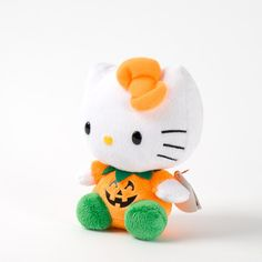 Ty Beanie Baby Hello Kitty Pumpkin