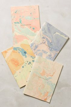 Marbled Notebook - anthropologie.com