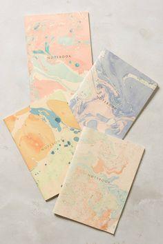 Marbled Notebook - anthropologie.com