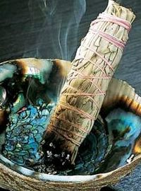 Smudging Sage - great for clearing energy!