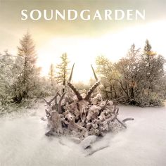 King Animal by Soundgarden The long wait for a new Soundgarden album has ended! This is a rock solid album but to my taste it's actually closer to Chris Cornell / Audioslave than Soundgarden. Chris Cornell, Foo Fighters, Pearl Jam, Music Covers, Album Covers, Lps, Nirvana, Hard Rock, Rock Music
