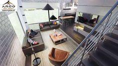 Bild 9 Design Case, Pool Houses, Smart Home, Corner Desk, House Plans, Minimalist, Concept, How To Plan, Interior Design