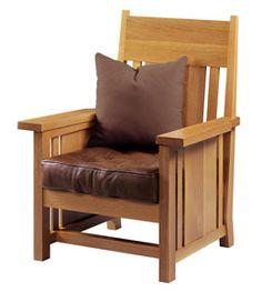 Prairie-style chair