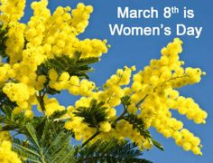March 8th is Womens Day in Italy- Lots of fun celebrations! Happy Birthday Mom!!! Awesome way to spend the day.