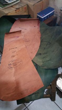 Horween shell cordovan leather by artsofgens.deviantart.com on @DeviantArt