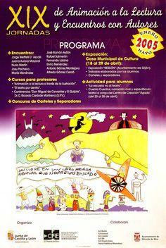 XIX Jornadas de Animación a la Lectura y Encuentros con Autores. Enero-Mayo 2005 (2000)