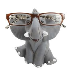 Ten Thousand Villages // Happy Elephant Eyeglass Holder - Happy Elephant Eyeglass Holder Happy Elephant, Elephant Love, Elephant Art, Elephant Gifts, Elephant Stuff, Elephant Home Decor, African Elephant, Bbq Baby Back Ribs, Elephants Never Forget