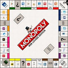 Game For Geeks: Monopoly Web Lovers Edition via NewsMix channel http://newsmix.me