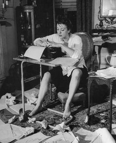 """""""There is nothing to writing. All you do is sit down at a typewriter and bleed.""""  ― Ernest Hemingway"""