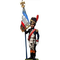 NP 038 FRENCH LINE GRENADIERS STANDARD BEARER