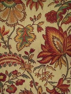 Jacobean Floral Jacquard Thick and soft multi use fabric in my fav colors
