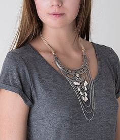 Festive Cut-Out Necklace - Women's Accessories | Buckle