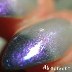 DOMINATOR - Blue/Purple/Red Multi-Chrome Thermal Color Changing Nail Polish - Drama Queen Collection by ExoticLacquers on Etsy https://www.etsy.com/ca/listing/267275976/dominator-bluepurplered-multi-chrome