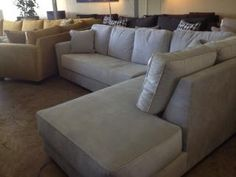 Custom Sofas Sunset Chaise Sectional   Underground Furniture   Modern  Furniture   Sofa Sectional San Diego