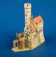 Maquetas de castillos para montar con recortables Castillo Bodiam, Willis Tower, Big Ben, Medieval, Building, Travel, Neuschwanstein Castle, Middle Ages, Zaragoza