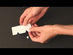 Видео-инструкция: 10 впечатляющих трюков с обычным листом бумаги   Промышленный дизайн   Предметы быта