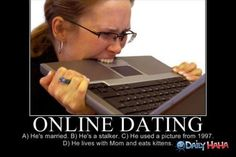 stress of online dating