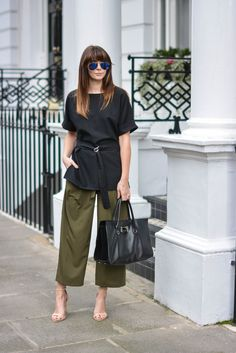 cropped pants street style 2