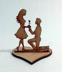 Resultado de imagen para pareja con base en mdf