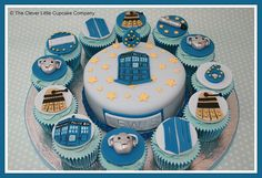 Dr. Who cupcakes! Can you say birthday wish!!