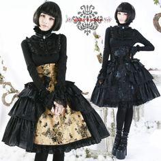 黒や白を基調としたゴシック : ゴシック&ロリータ風なドレスで結婚式♡まとめ - NAVER まとめ