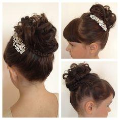 Flower Girl Hair Style !