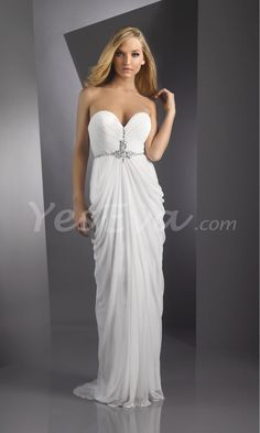 Stunning Strapless Sweetheart Empire Floor Length Prom Evening Dresses.$119.95