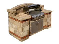 BBQ Island | Outdoor Barbecue Grills | System Pavers