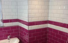 Metro White Wall Tile from Tile Mountain only per tile or per sqm. Order a free cut sample, dispatched today - receive your tiles tomorrow Brick Style Tiles, Painted Paneling Walls, Burgundy Walls, White Wall Tiles, Big Girl Bedrooms, Metro Tiles, Bathroom Design Inspiration, Fireplace Surrounds, Bathroom Renovations
