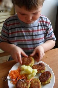 Baby Food Recipes, Cooking Recipes, Polish Recipes, Cooking With Kids, Kids Meals, Grilling, Lunch Box, Food And Drink, Fish