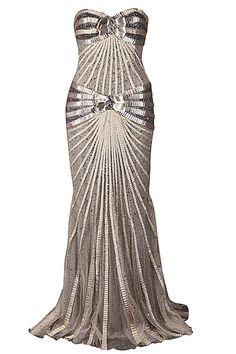 Zuhair Murad Gold Gown