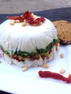 Raw Vegan Goat Cheese