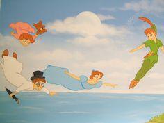 Mural Peter Pan