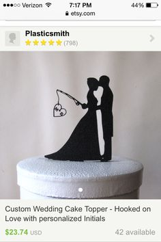 Think this would be super cute for you and Josh's cake