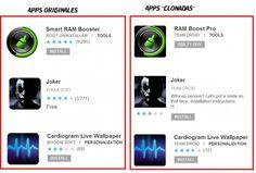 #Aplicaciones peligrosas en #Android