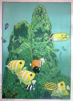 Sea Fishes - Toshi Yoshida