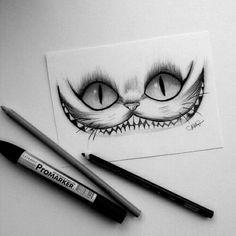 Cheshire Cat drawing