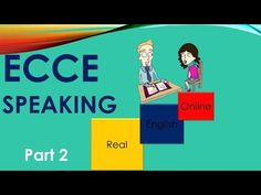 ECCE Speaking,Part 2, TIPS -Michigan - YouTube English Online, Online Work, Learn English, Michigan, Teaching, Education, Tips, Youtube, Learning English