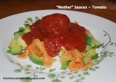 """This week the challenge for 52 weeks of cooking is entitled """"Mother Sauces"""". For those of you not familiar with the five French mother sauce. 52 Weeks, Kitchen Canisters, Sauces, Cooking, Recipes, Kitchen, Kitchen Jars, Ripped Recipes"""