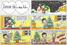 Love is... Sunday 25 December 2016 | Bill Asprey Cartoons & Comic Strips