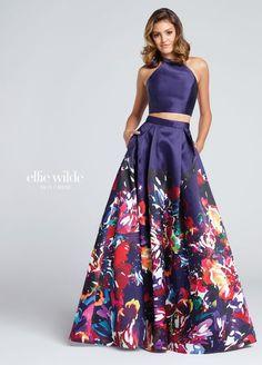 Colección 2018 Ellie Wilde Vestidos de fiesta largos