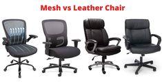 #Mesh #vs #leather #chair #office #officechair #ergonomichair #best #officefurniture #chairdesign #officechair Best Ergonomic Office Chair, Best Office Chair, Comfortable Office Chair, Mesh Chair, Cool Chairs, Chair Design, Office Furniture, Real Leather, Home Decor