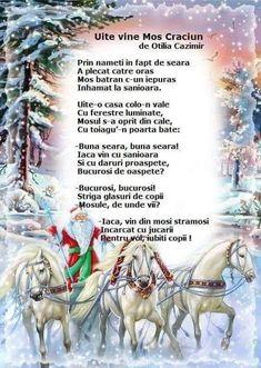 Good Night My Friend, Anul Nou, Kids Poems, School Lessons, Christmas Cross, Kids Education, Nursery Rhymes, Holidays And Events, Preschool Activities